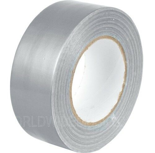 Gaffa Duct Tape in a choice of Black 50mm x 50 Metre Roll Silver or White