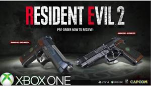 Resident-Evil-2-Samurai-Edge-Chris-amp-Jill-Xbox-One-Exclusive-Preorder-DLC