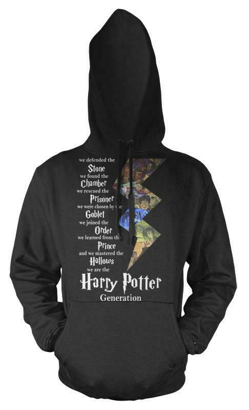 Harry Potter Generation Stone Chamber Goblet Adult Hoodie