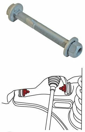 Caster Cam part #28815 for Chrysler and Mercedes models SPC Camber