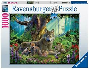 Ravensburger-Jigsaw-Puzzle-WOLVES-IN-THE-FOREST-1000-Pieces