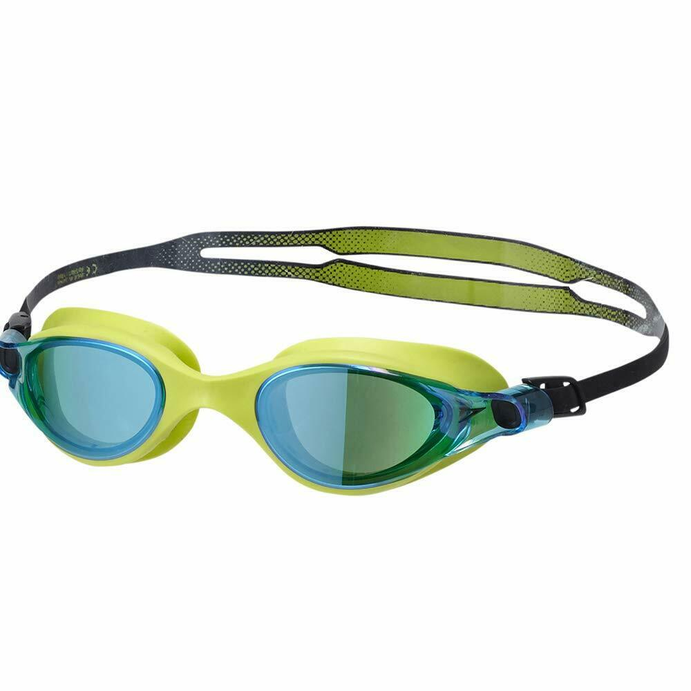 Speedo Swimming Goggles  Vue Mirror V Class Sd97G20 Lime   bluee Unisex Japan F S