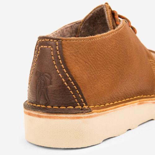 Clarks Originals Men ** X DESERT KILVE TREK ** TAN Leather **  UK 6,7,11,12,13 G