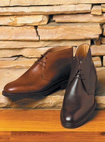 Zapatos De Cuero para para Cuero Hombre Hecho a Mano Negro y Marrón Botín Chukka hecho a pedido 470ad2