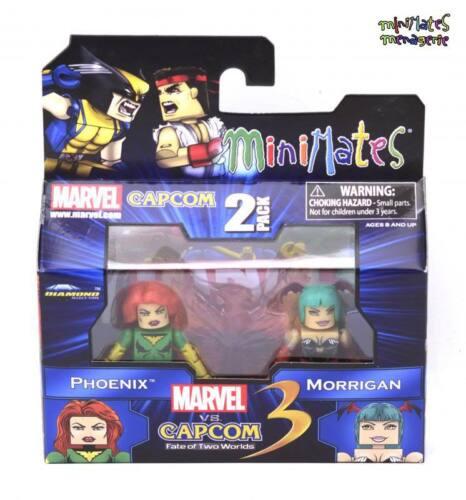 Marvel vs Capcom 3 Minimates Wave 1 Phoenix vs Morrigan