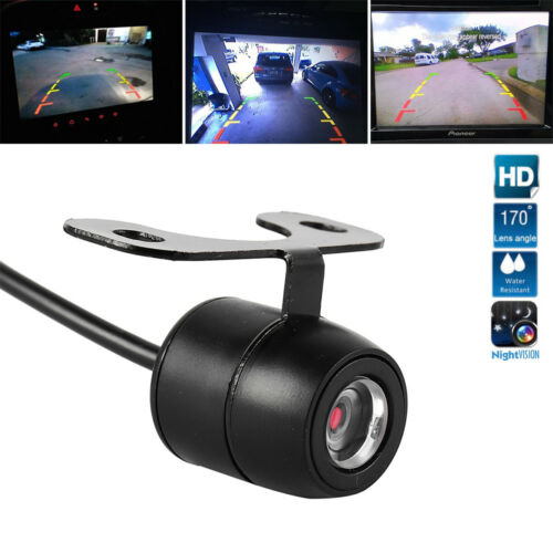HD 170° Car Rear View Camera Parking Reverse Backup Cam Night Vision Waterproof
