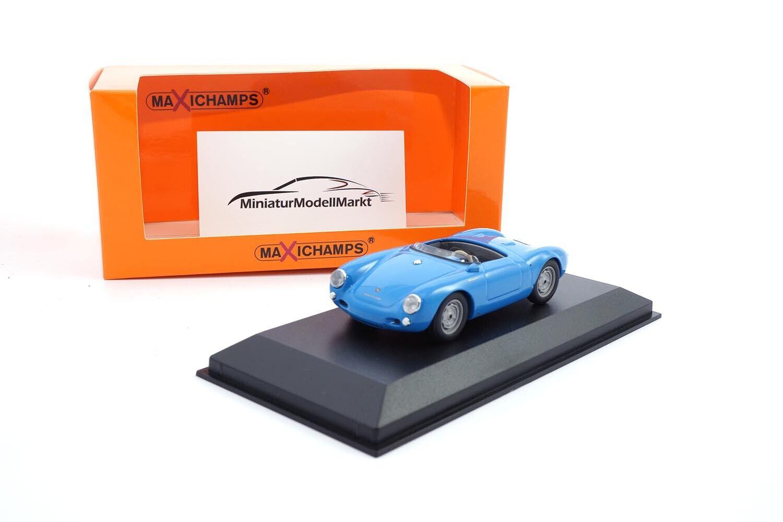 Maxichamps Porsche 550 Spyder - blue - 1955 - 1 43