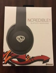 e8704c88d5f Image is loading Nick-Cannon-Ncredible1-Wireless-BlueTooth-Headphones -RadioShack-Over-