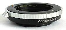 Contax G Lens to Sony NEX E Mount Adapter A7 R S A7II A6300 A6500 NEX7 CG-NEX