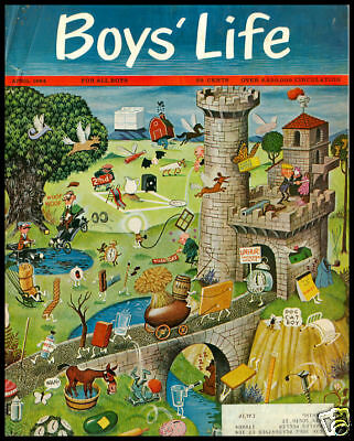 1964 Vintage Cover Ad Boy's Life Rich And Magnificent Advertising-print