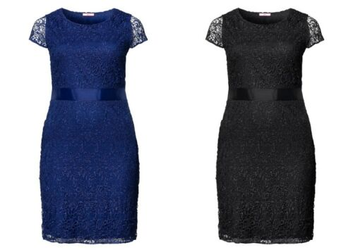 Joe Browns Damen Spitzenkleid Kleid Dress Spitze Schwarz Blau Blue Black NEU