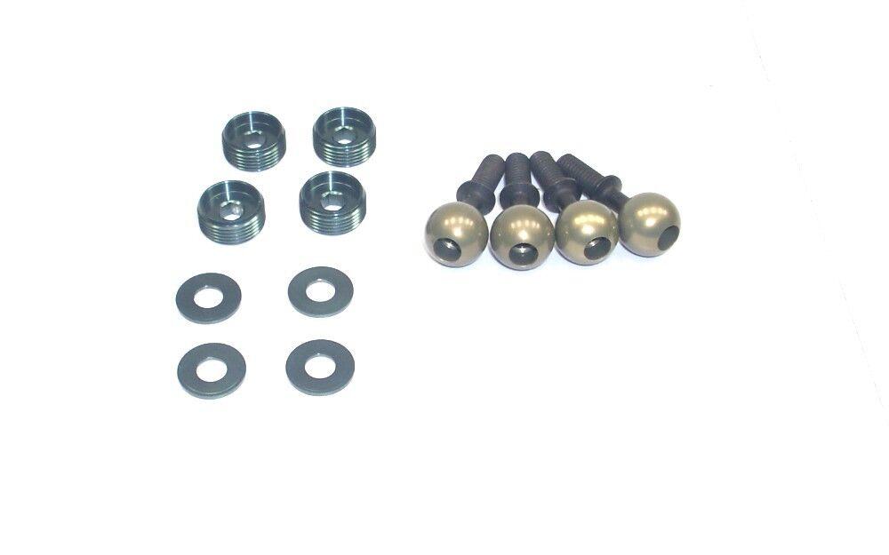 Mugen Seiki 1:8 4WD MBX-7TR E0160 E0159 E0161 Ball Stud + Nuts M7T®