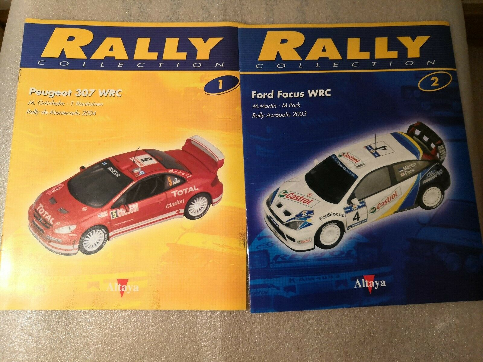 Magazines number 1 50 missing 32 and 33 rally collection year 2004 altaya