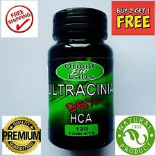 120 Xtreme 96% HCA GARCINIA CAMBOGIA PURE NATURAL Diet Weight Loss Pill Slimming