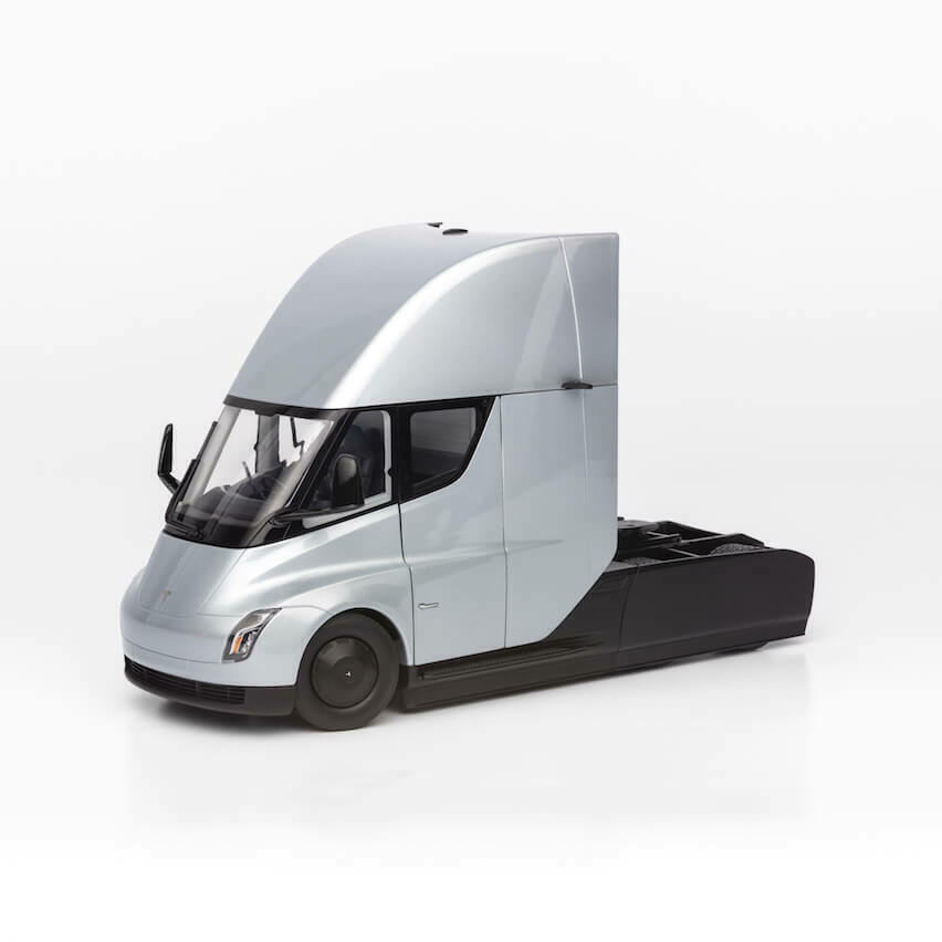 suministro de productos de calidad Diecast Diecast Diecast Escala 1 24 Tesla semi camión Coleccionable  mejor precio