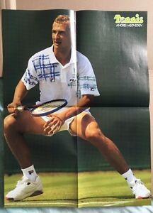 ANDREI-MEDVEDEV-Original-Vintage-French-Tennis-Magazine-Poster