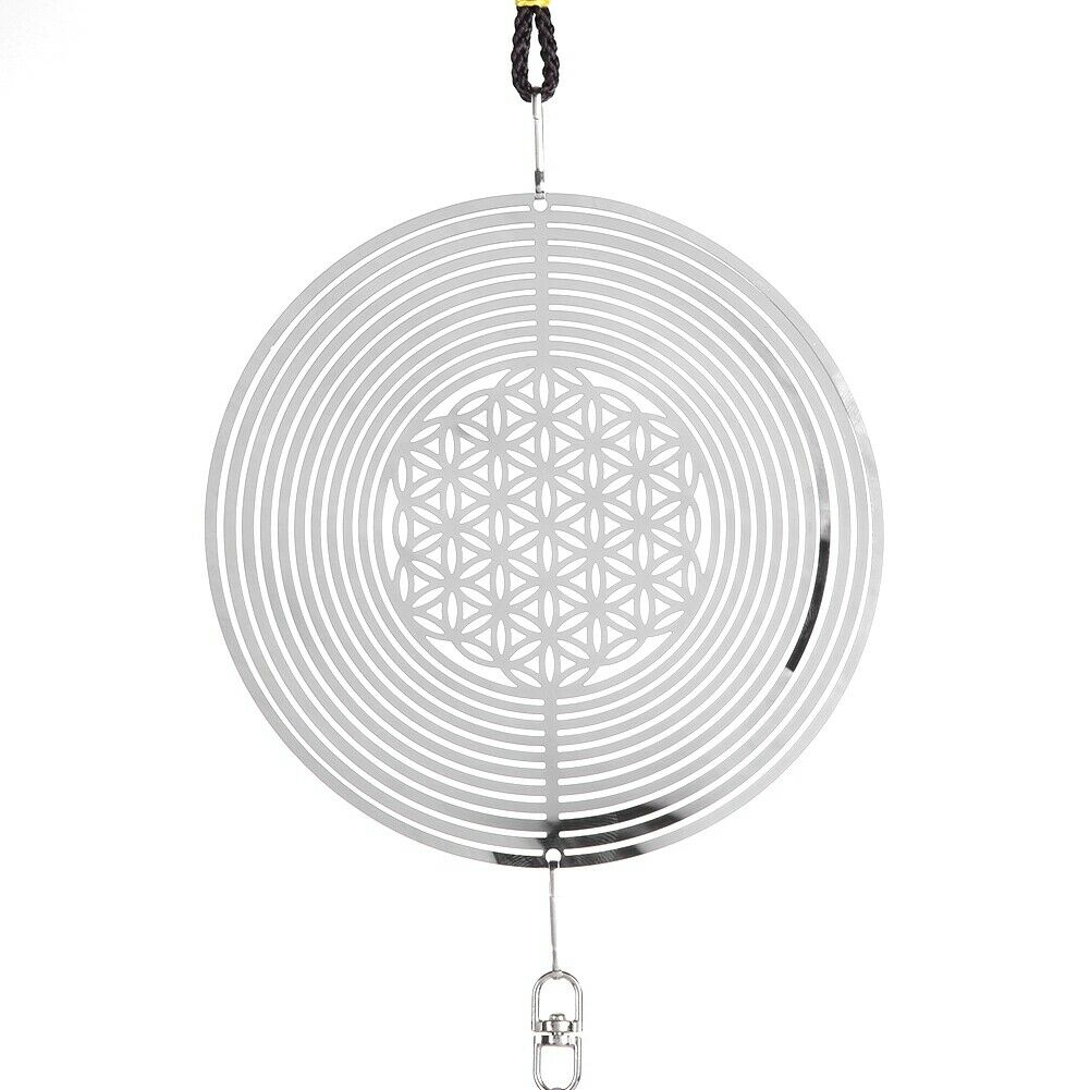 Cute Wind Chimes,Metal Music Spiral Ball Wind For Indoor Outdoor