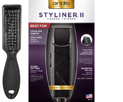 NEW Andis Styliner II Corded #Trimmer 26700; Lining /& Shaping Made in USA