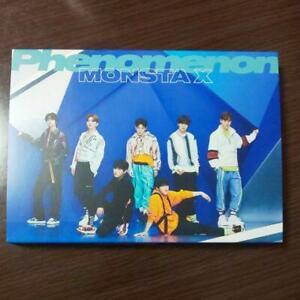 Monsta-X-2nd-album-Phenomenon-first-press-A-ver-CD-DVD-No-photocard-sirial