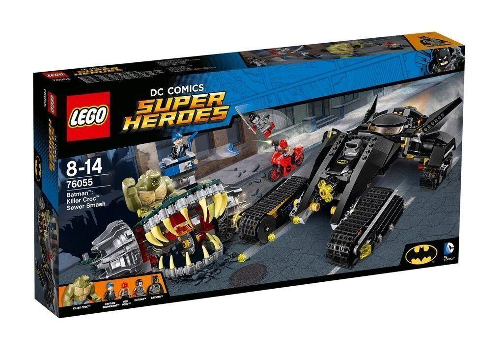 Lego Super Heroes BatFemme™: 76055 Tueur Crocs ™ ™ ™ Raid Neuf Emballage D'Origine   Nouveaux Produits  06fa34
