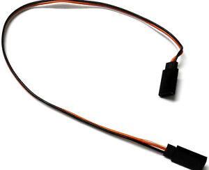 C2001C-5-30-cm-22AWG-Compatible-Con-Futaba-recto-Cable-de-extension-2-mujeres