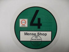 Grüne - Umweltplakette - Feinstaubplakette Kennzeichen UV Beständig Bedruckt !!!