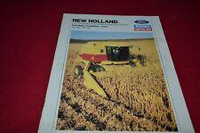New Holland TR86 TR96 Combine Dealer's Brochure BWPA ver3