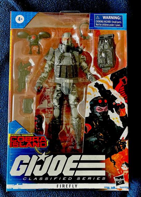 GI Joe Classified Series Firefly Target Exclusive Cobra Island