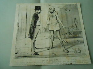 Litho-1842-Daumier-Une-Profession-de-foi