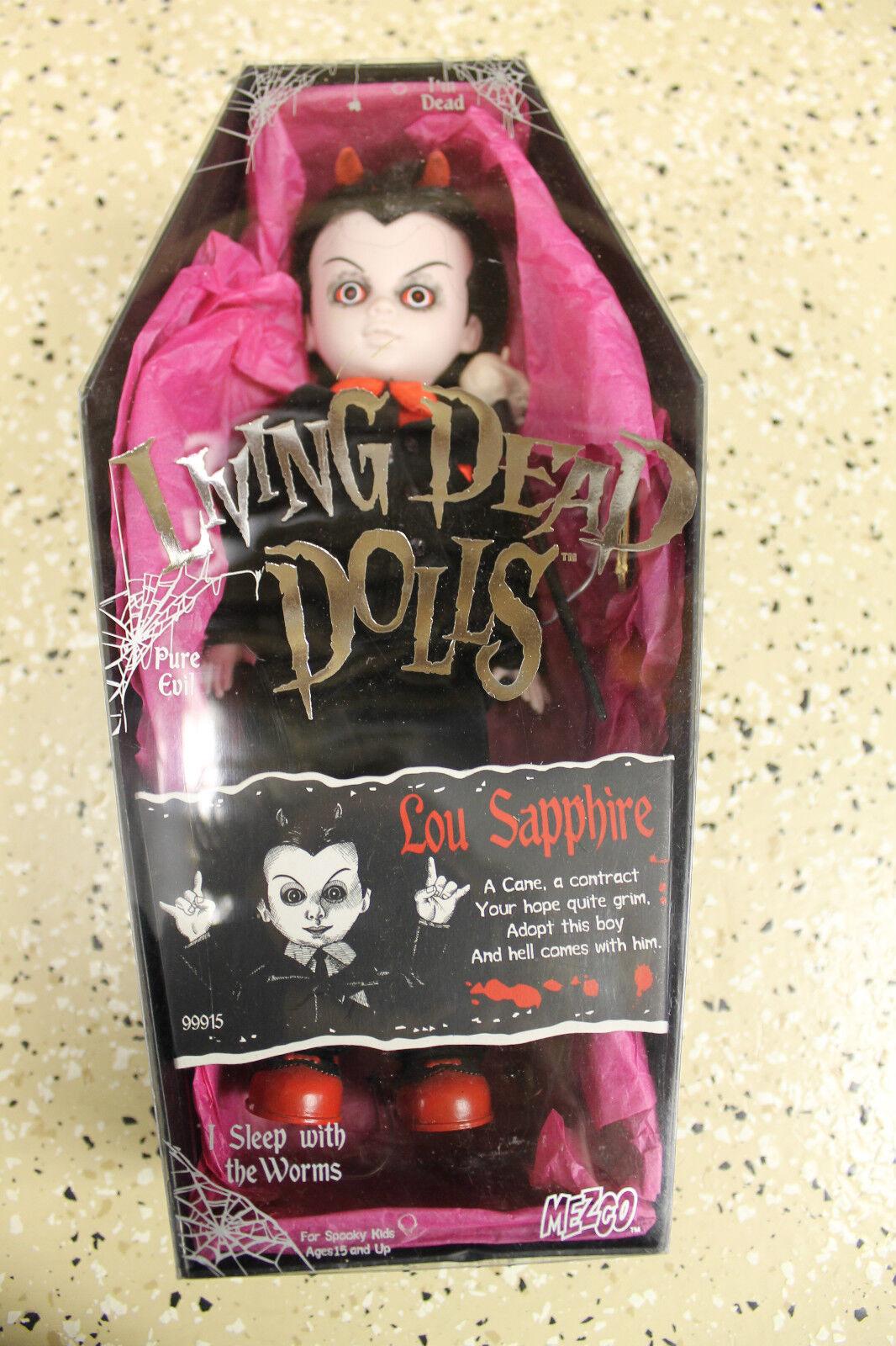 Mezco Living dead dolls  Lou Sapphire  Figure Pleine Taille