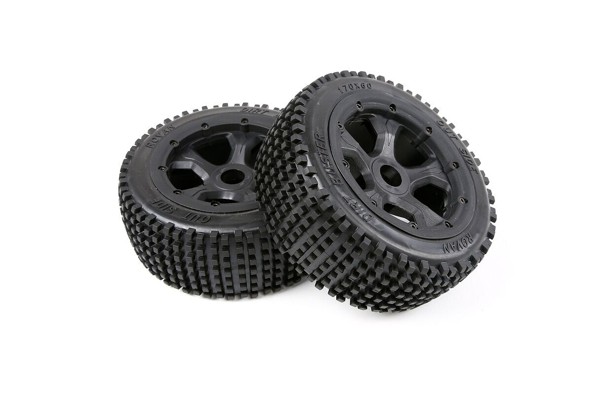 Tyre Wheel Set 1/5 Losi 5ive T Baja 4WD KM ROVAN