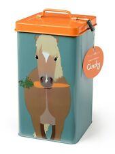 CreatureWares Kitchen Storage Tin Biscuit Pet Treat Food Jar Animal Lovers Gift