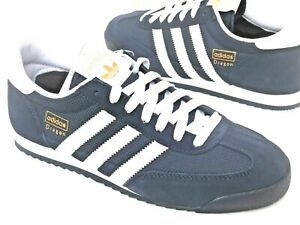 Adidas-Dragon-Mens-Shoes-Trainers-Uk-Size-7-10-G50919-Navy-White