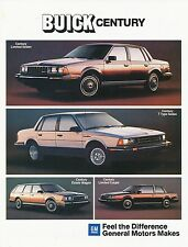Buick Century Prospekt 9/83 car brochure Autoprospekt Auto Pkw USA Amerika 1983