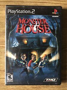 Monster-House-Ps2-Playstation-2-Box-amp-Game-No-Manual