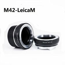 Leicaist  M42 Lens to Leica M LM Mount Adapter for  M240 M9 with TECHART LM-EA7
