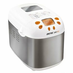 Details about Imetec Zero Glu Breadmaker 920 W Pan Sweets and Desserts without Gluten 20