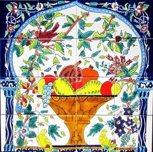 Image Is Loading Decorative Ceramic Tiles Mosaic Panel Kitchen Bath Pool