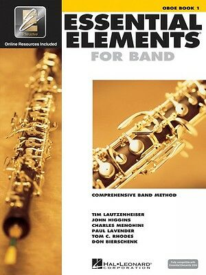 Essential Elements For Band Book 1 With Eei Oboe Band Book Media Onlin 000862567 Durable In Use Instruction Books, Cds & Video