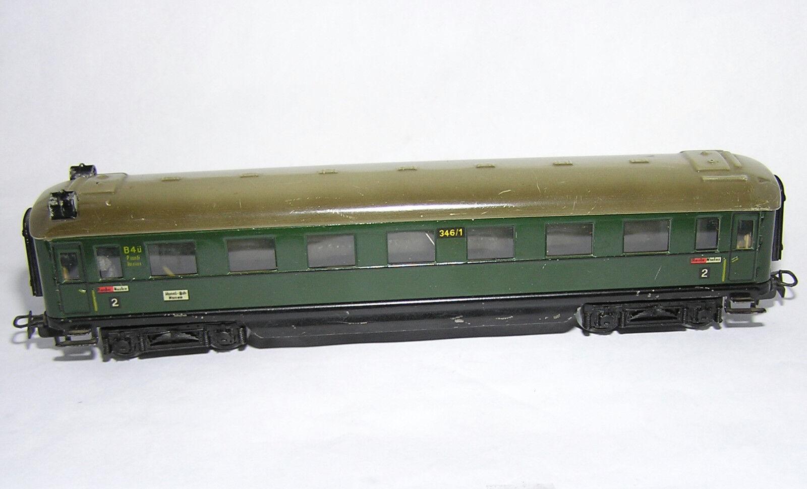 1 87 Märklin 346 1 BS version 4 treno rapido carro BEL. e fanalino