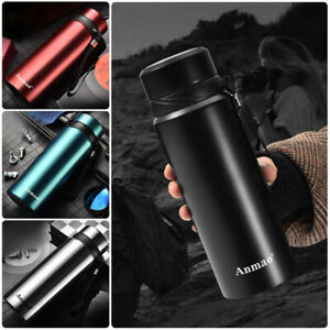Double-Walled-Stainless-Steel-Water-Bottle-Vacuum-Insulated-Thermos-Flask-1000ML