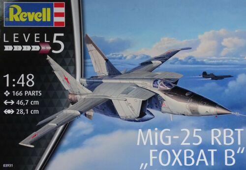 REVELL® 03931 MiG-25RBT Foxbat B in 1:48