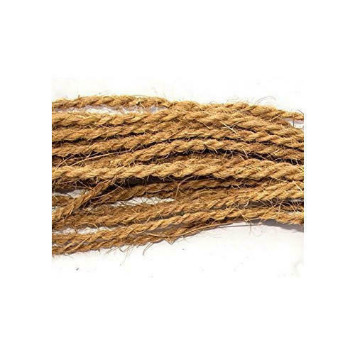 100% Natural Eco Friendly Coconut Husk Fiber Rope Twisted
