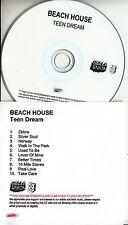 BEACH HOUSE Teen Dream 2010 UK 10-track numbered promo test CD