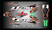 KTM 690 SMC SEMI CUSTOM GRAPHICS KIT GREG