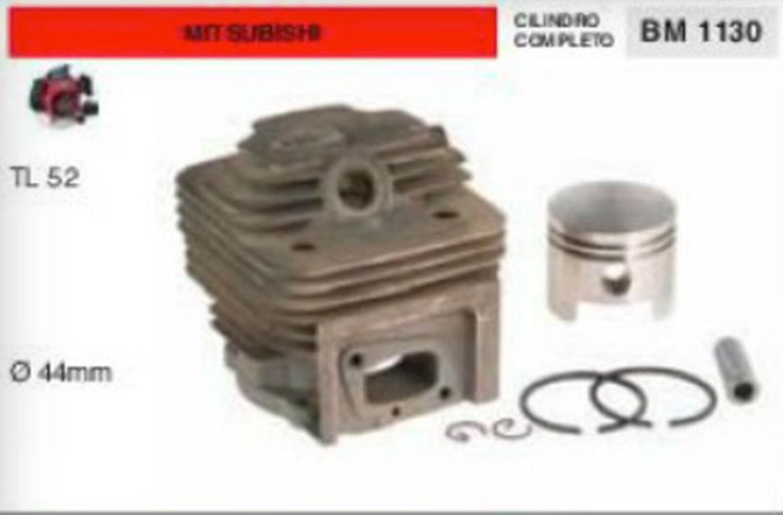 Cylindre et Piston Complet Débroussailleuse Mitsubishi TL52 TL 52 Ø 44 MM
