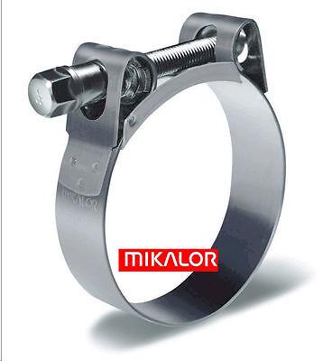 Mikalor Supra W2 Edelstahl Schelle Breitbandschelle Gelenkbolzenschelle - breite