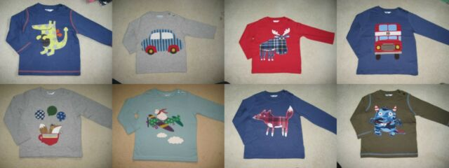 BABY BODEN t-shirt haut 0-3 ans Applique & impression 12 Designs