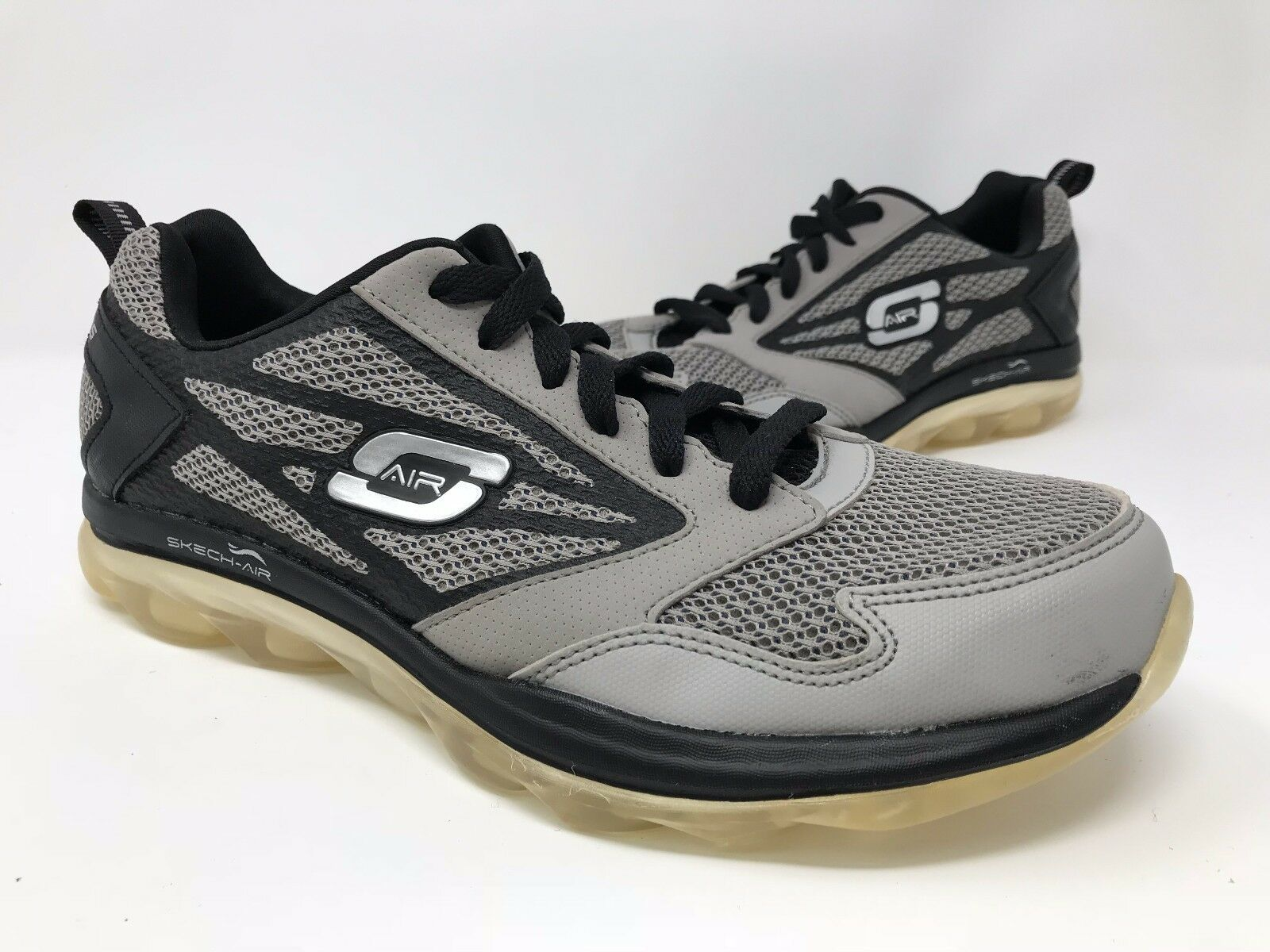 New! Men Skechers 51438 Skech Air Training Shoes - SIZE 7.5 Grey N41 Wild casual shoes