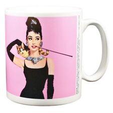 Audrey Hepburn Mug Breakfast At Tiffany's Pink